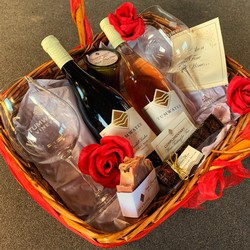 Large Valentine's Basket